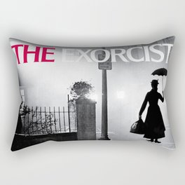 Mary Poppins in the Exorcist Rectangular Pillow