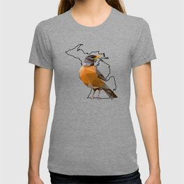 Michigan – American Robin T-shirt
