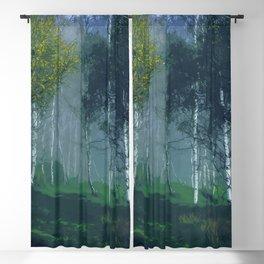 Green Embrace Blackout Curtain