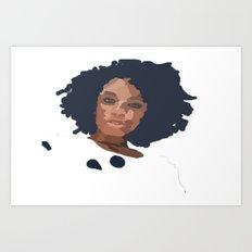 Natural Hair  Art Print