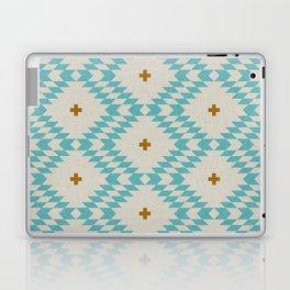 NATIVE NATURAL PLUS TURQUOISE Laptop & iPad Skin