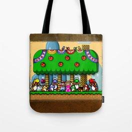 Super Mario World Happy Ending Tote Bag