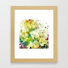 flower's party Framed Art Print