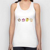 farm Tank Tops featuring Rolling farm by Fairytale ink