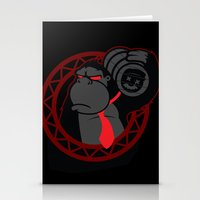 donkey kong Stationery Cards featuring Donkey Kong by La Manette