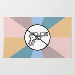 No Guns 2 Rug