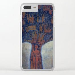 Family Tree, etching, 1983 Clear iPhone Case