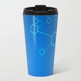 molecules Classic Medicine Medical Terms Comprehensive Study Medical blue Travel Mug
