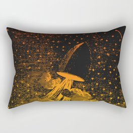 Nineteenth Century Space Travel Rectangular Pillow