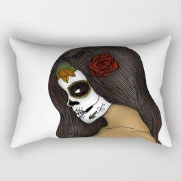 The Day Of The Dead Girl Rectangular Pillow