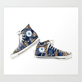 Shoe Blues Art Print