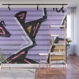 Street Art - Violet Urban Collection Wall Mural