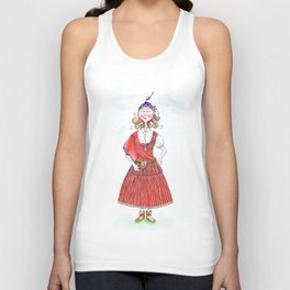 MARIA FROM MADEIRA, PORTUGAL Unisex Tank Top