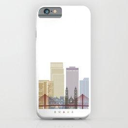 Omaha V2 skyline poster iPhone Case