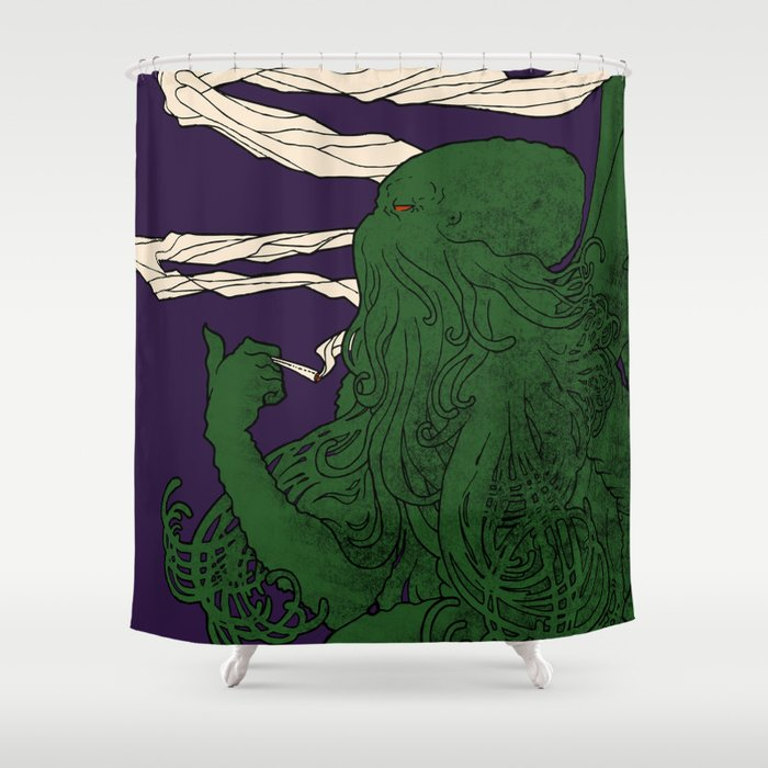 Chtulu - Doom Lord Shower Curtain