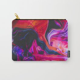 Abstract Paint Mix 27 Carry-All Pouch
