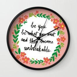 Unbreakable Wall Clock