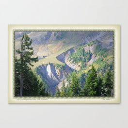 SWIFT CREEK HEADWATERS BELOW TABLE MOUNTAIN Canvas Print