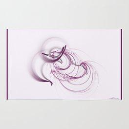 Lavender Swirls Rug
