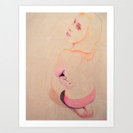 Marina Entranced Art Print