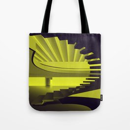 Upstairs - Brasilian Brutalism Tote Bag