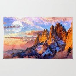 Artwork - Colorado Mountains Rug
