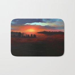 Landscape Series - Transition From Dawn Bath Mat