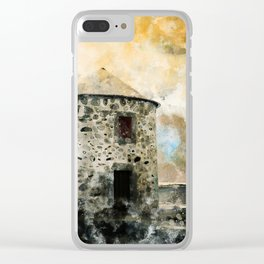The old windmill Clear iPhone Case