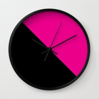 queer Wall Clocks featuring Queer power by Cuoredi.