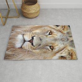 Lion Face Rug