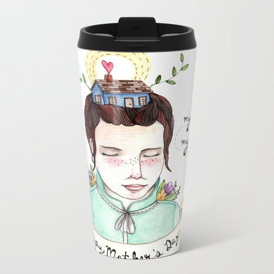 Mother's Day Metal Travel Mug