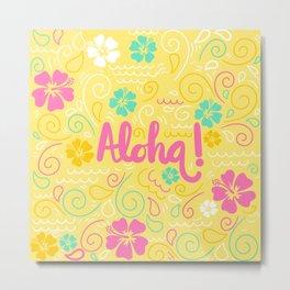 Spring Aloha! Metal Print