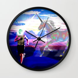 Unicorn Phaser Wall Clock