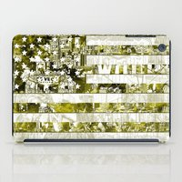 usa iPad Cases featuring USA by Bekim ART