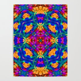 Ornament, ethnic, geometric 11 Poster
