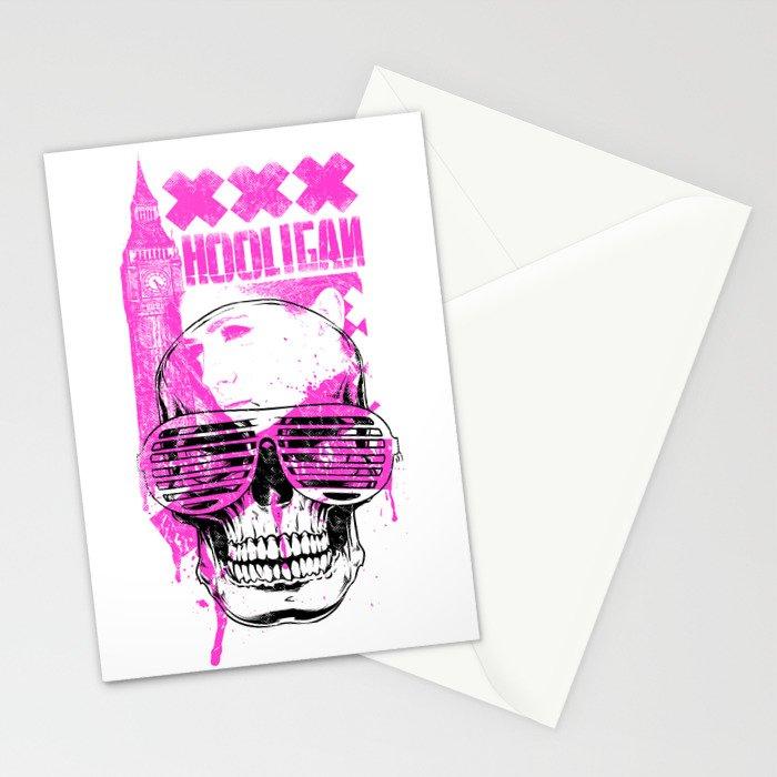 UK Hooligan Stationery Cards
