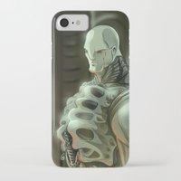 prometheus iPhone & iPod Cases featuring Prometheus by Kaan Demircelik