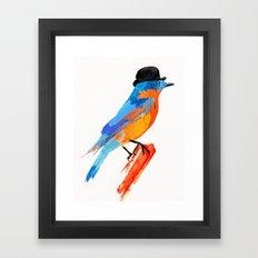 Lord Birdy Framed Art Print