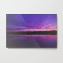 Cadron Sunset Metal Print