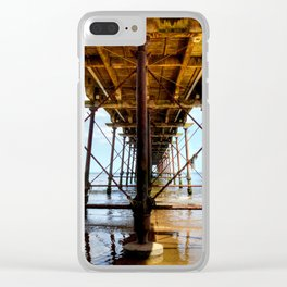 Under the Boardwalk Clear iPhone Case
