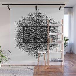 Transcendental Metatron's Cube Wall Mural