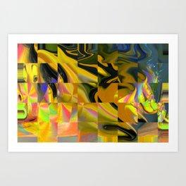 Quantum Complexity Art Print