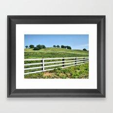 The Ranch Framed Art Print