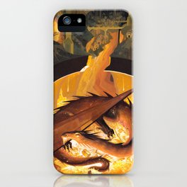 Beneath the Mountain Keep iPhone Case