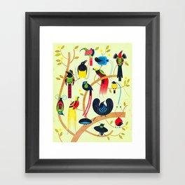 Birds of Paradise Framed Art Print