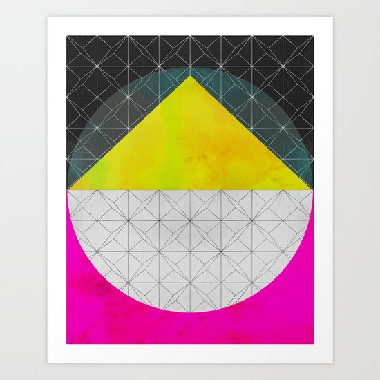 Quadrant Art Print