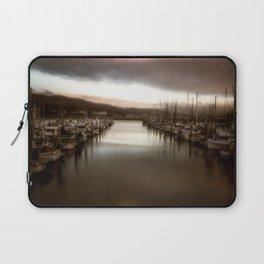 Unbalanced Half Moon Bay California Laptop Sleeve