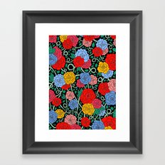 FLOWERS FROM THE SOUTH Framed Art Print