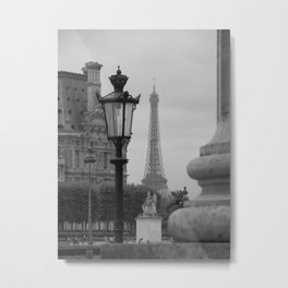 Paris dreaming Metal Print