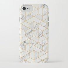 Marble hexagonal pattern iPhone 7 Slim Case